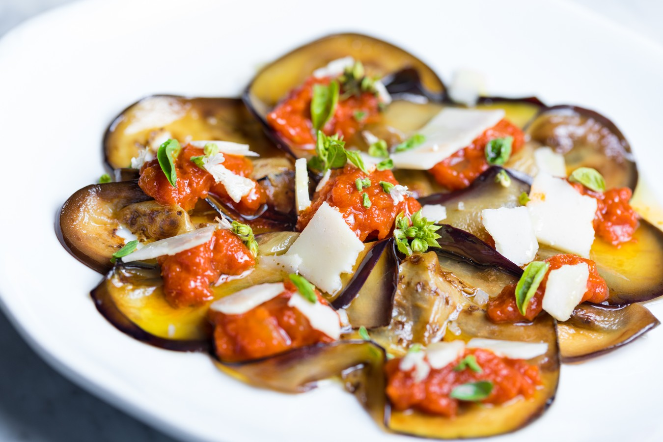 kitchen boss eggplant caponata%0A Basically  this is a caprese with eggplant involved  If you u    re looking for  a lighter appetizer before the pasta hits the table  this is ideal