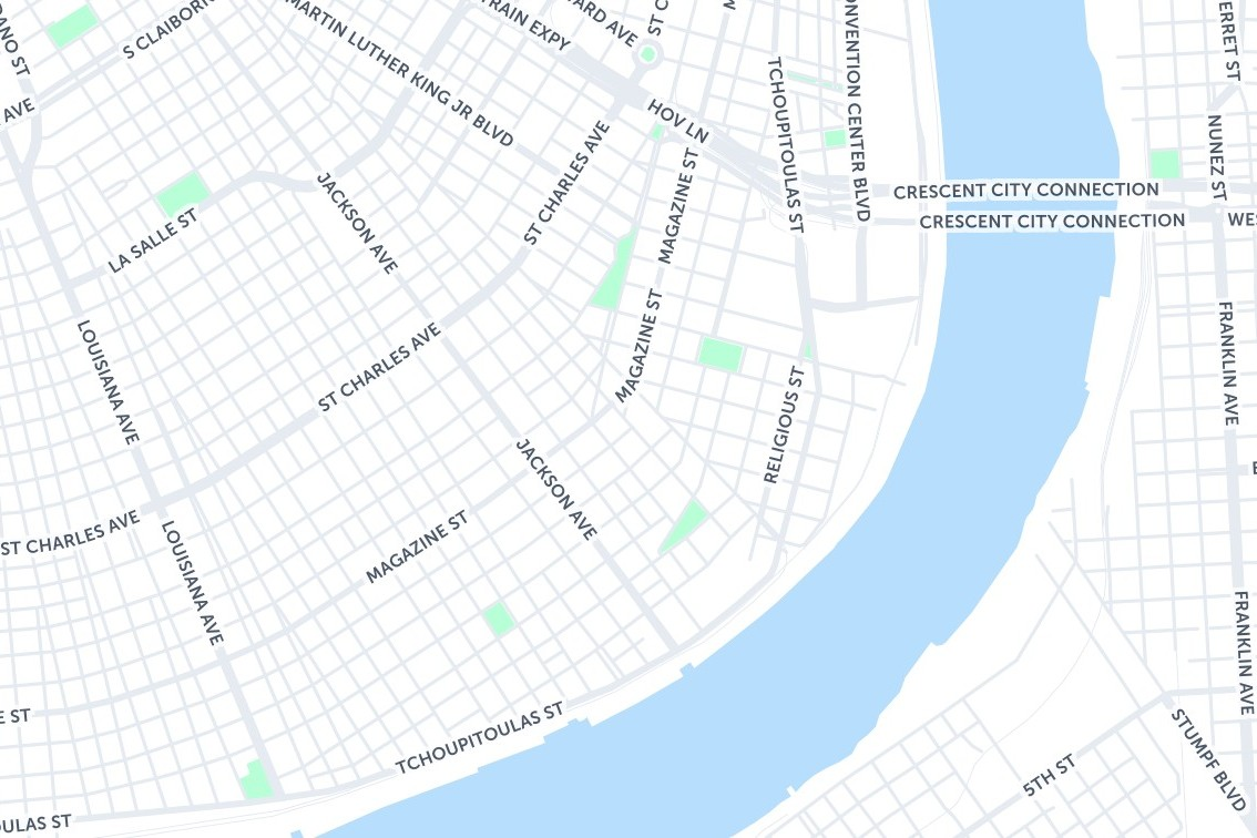 Where To Drink In New Orleans - New Orleans - The Infatuation on map of excalibur, map of cherokee street, map of sodium street, map of hard rock, map of dunes, map of romance, map of new haven street, map of americana, map of julia street cruise terminal, map of st. charles avenue, map of louis armstrong park, map of driftwood, map of geary street, map of holiday, map of boulder station, map of harrah's, map of eclipse, map of sam's town, map of blue bayou water park, map of tchoupitoulas street,