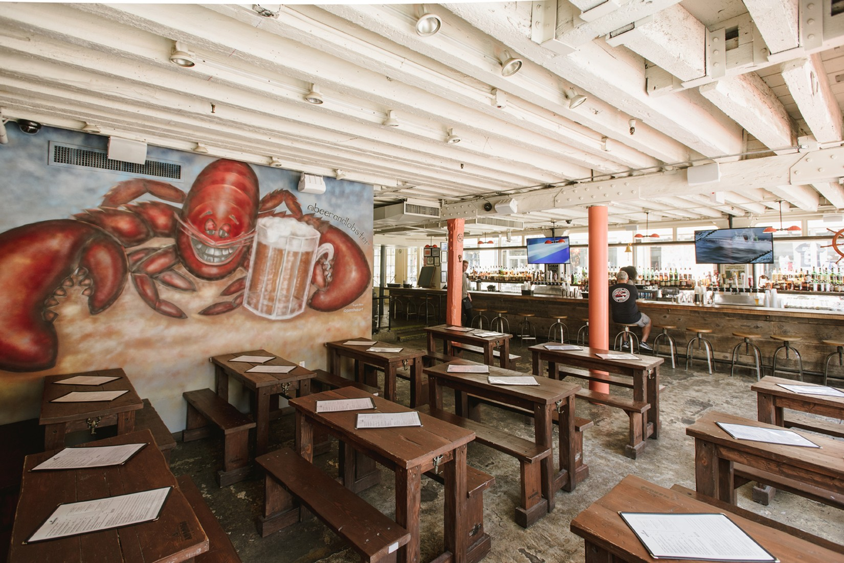 Ambrose Beer and Lobster - South Street Seaport - New York - The Infatuation