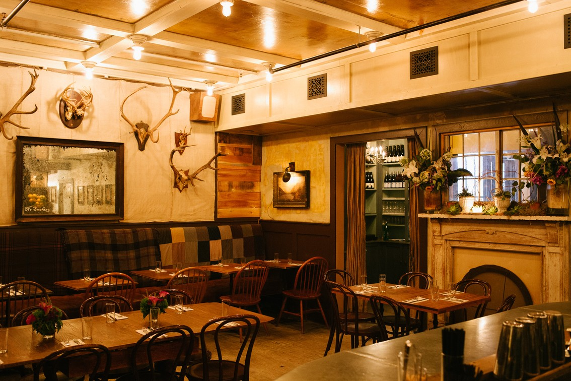 freemans dining room | The Private Dining Directory - New York - The Infatuation