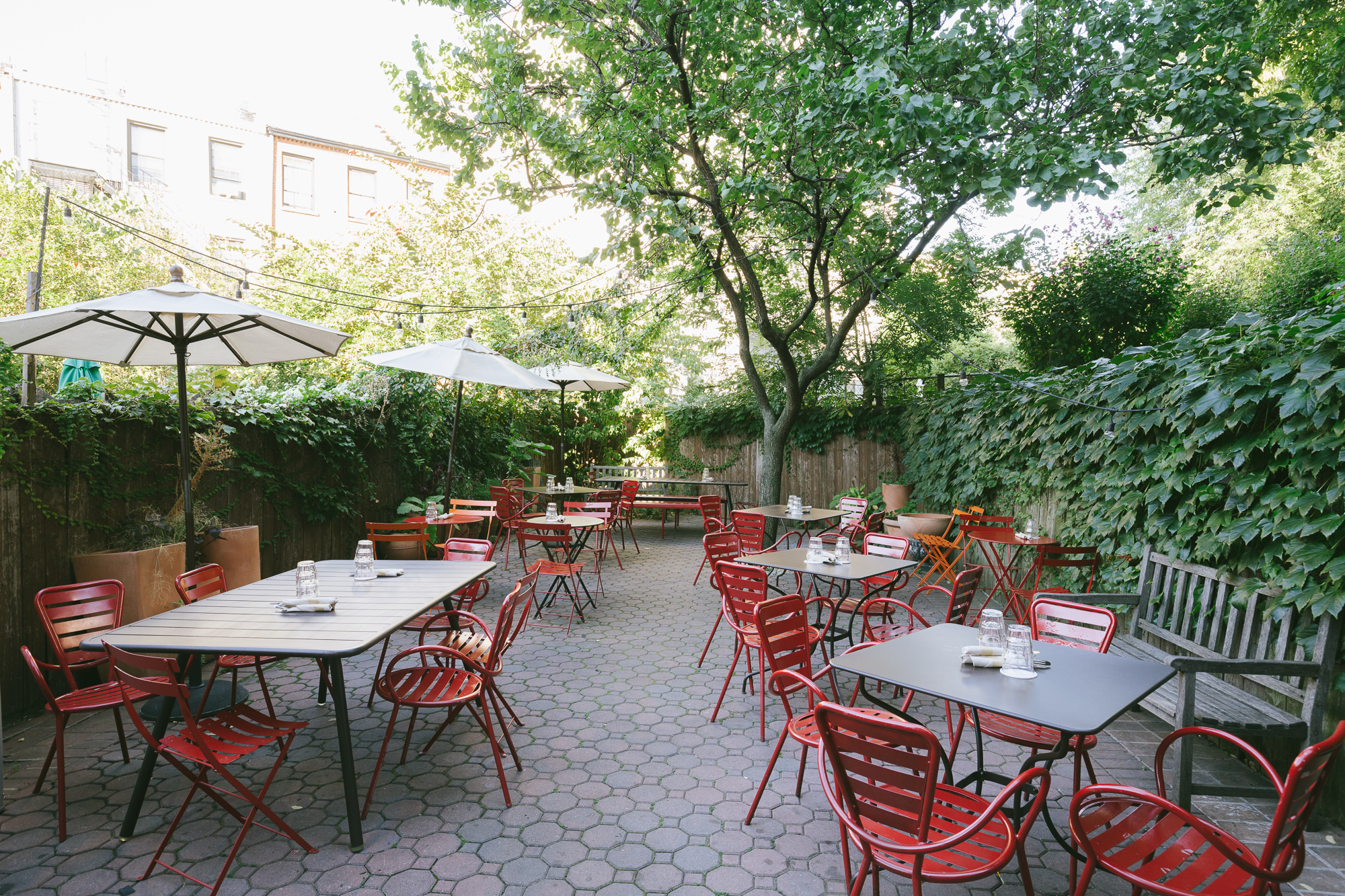 57 great places to eat outside right now new york the infatuation