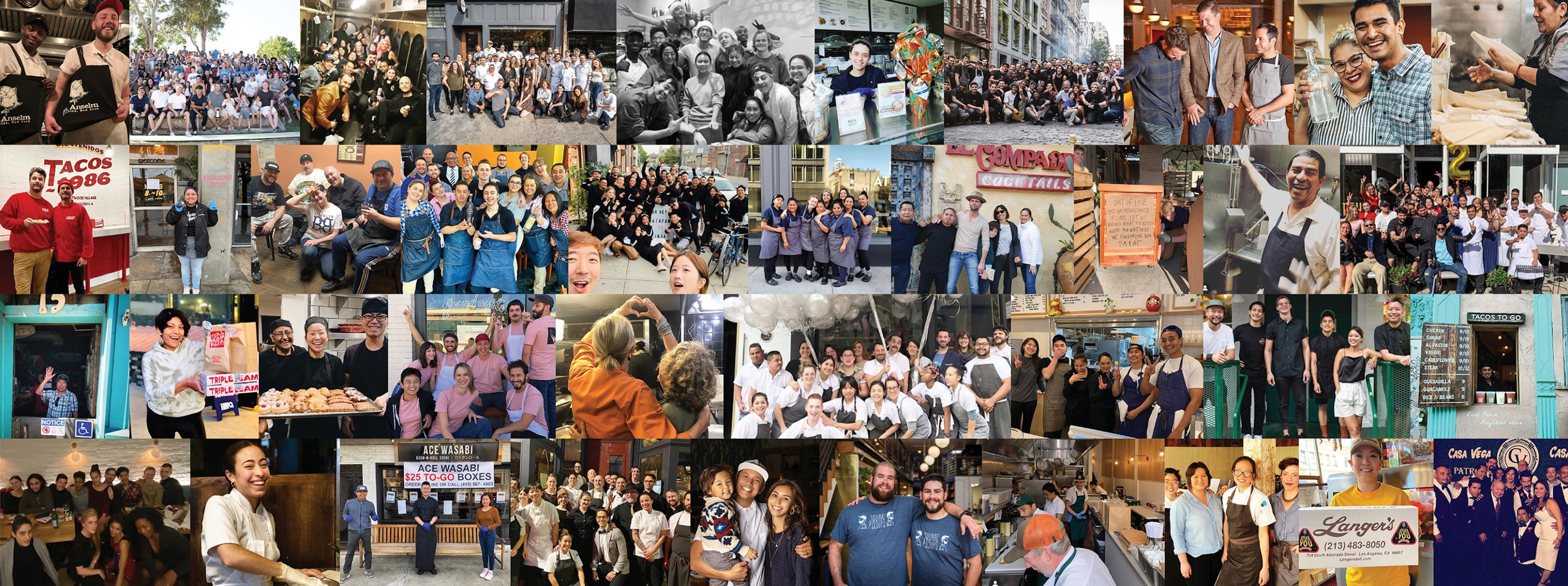 40 NYC Restaurants Giving Back To The Community - New York - The Infatuation