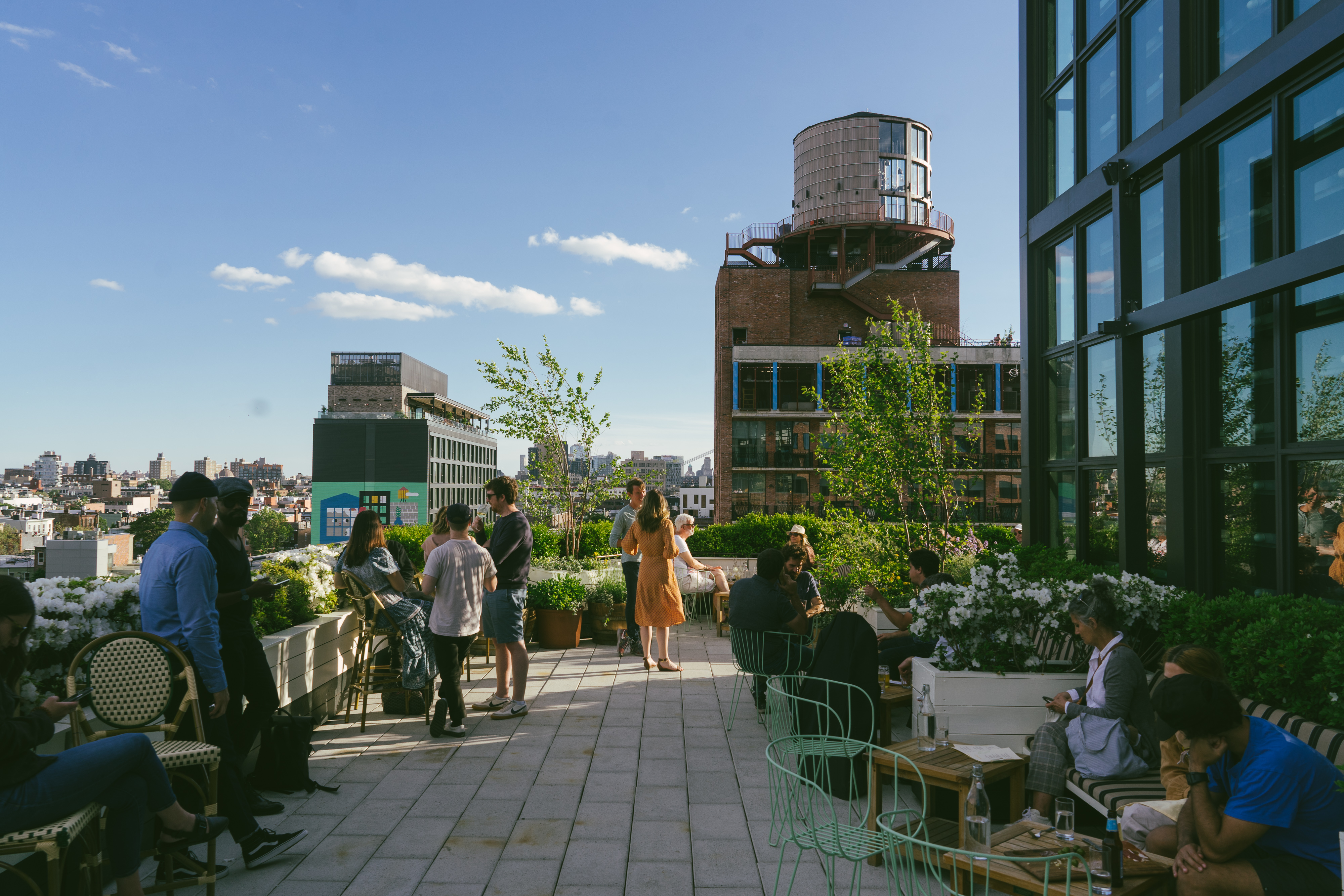 The Best NYC Rooftops For Eating & Drinking - New York - The