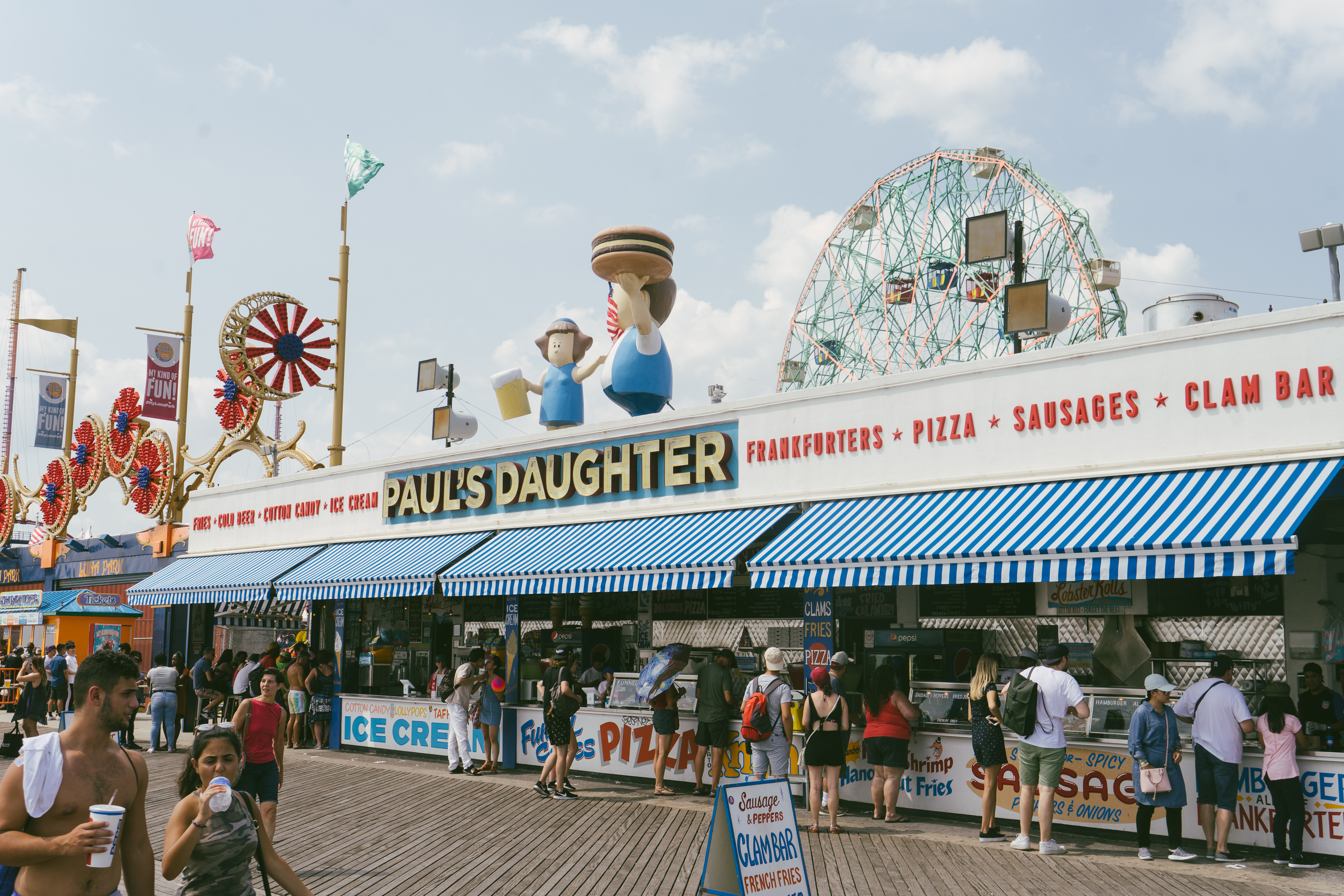 Coney Island Hours >> Where To Eat And Drink In Coney Island Coney Island New