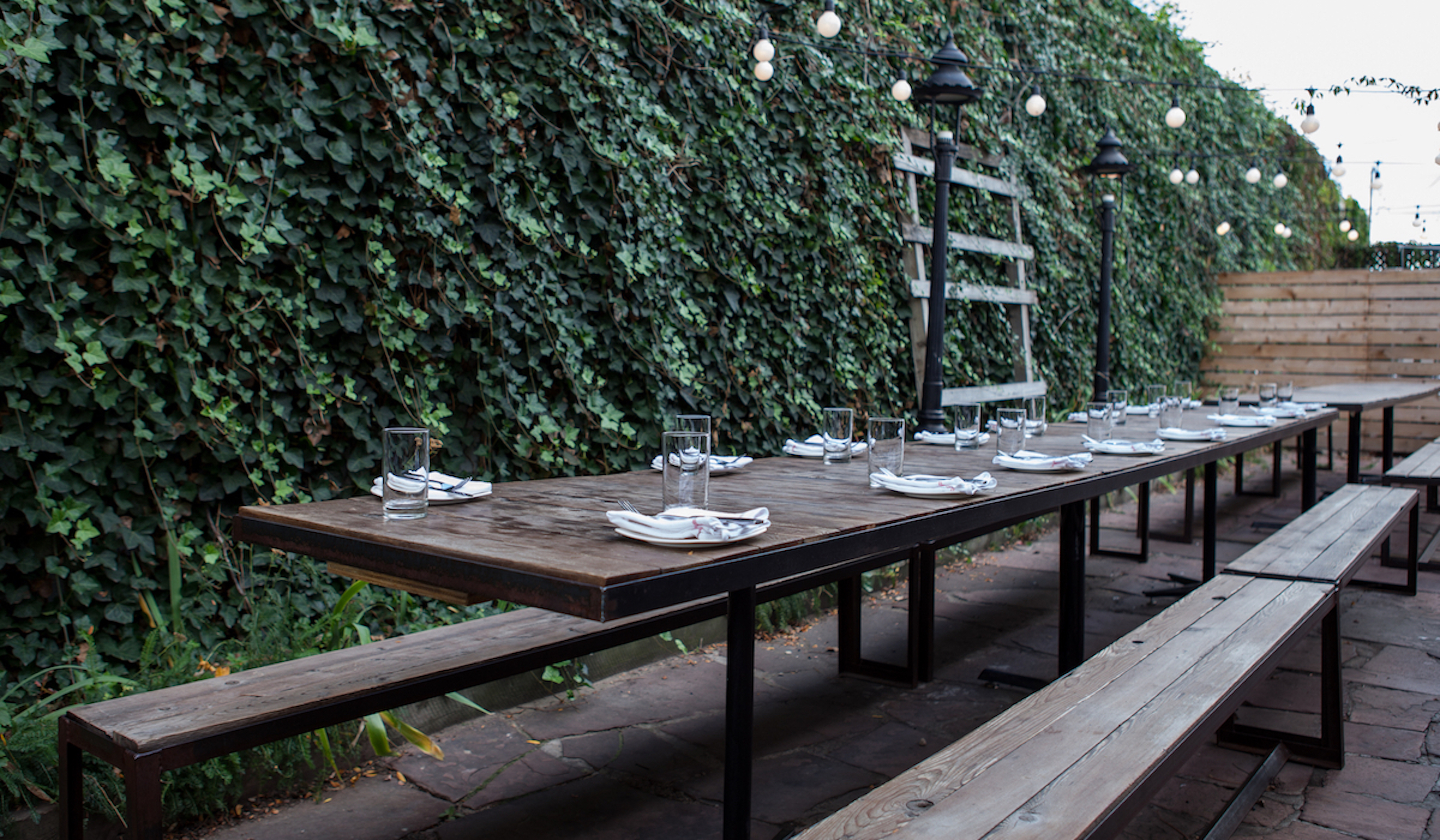 Outdoor school lunch table - Denver S Best Patios For Outdoor Eating And Drinking Denver The Infatuation