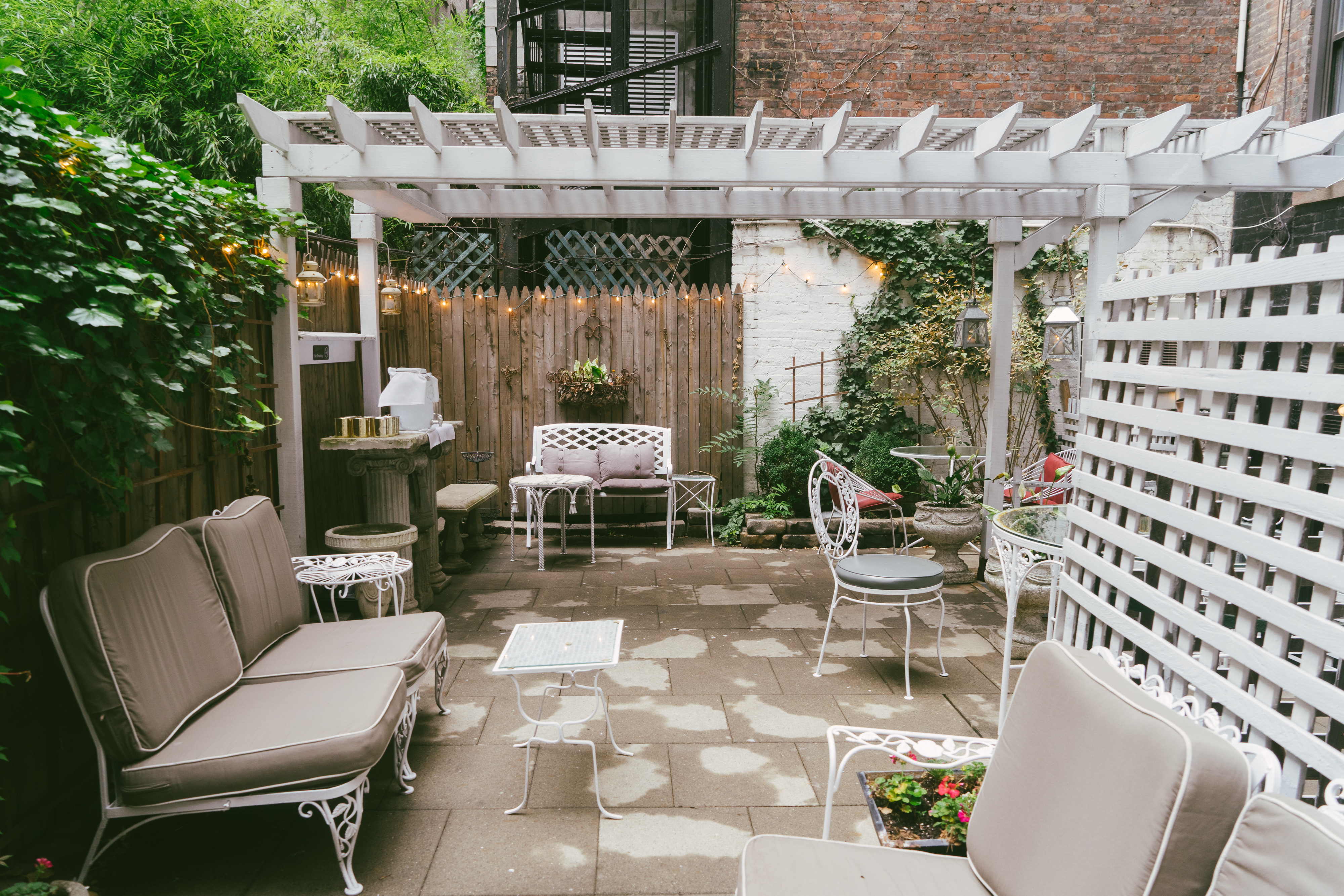 the secret patios of nyc new york the infatuation