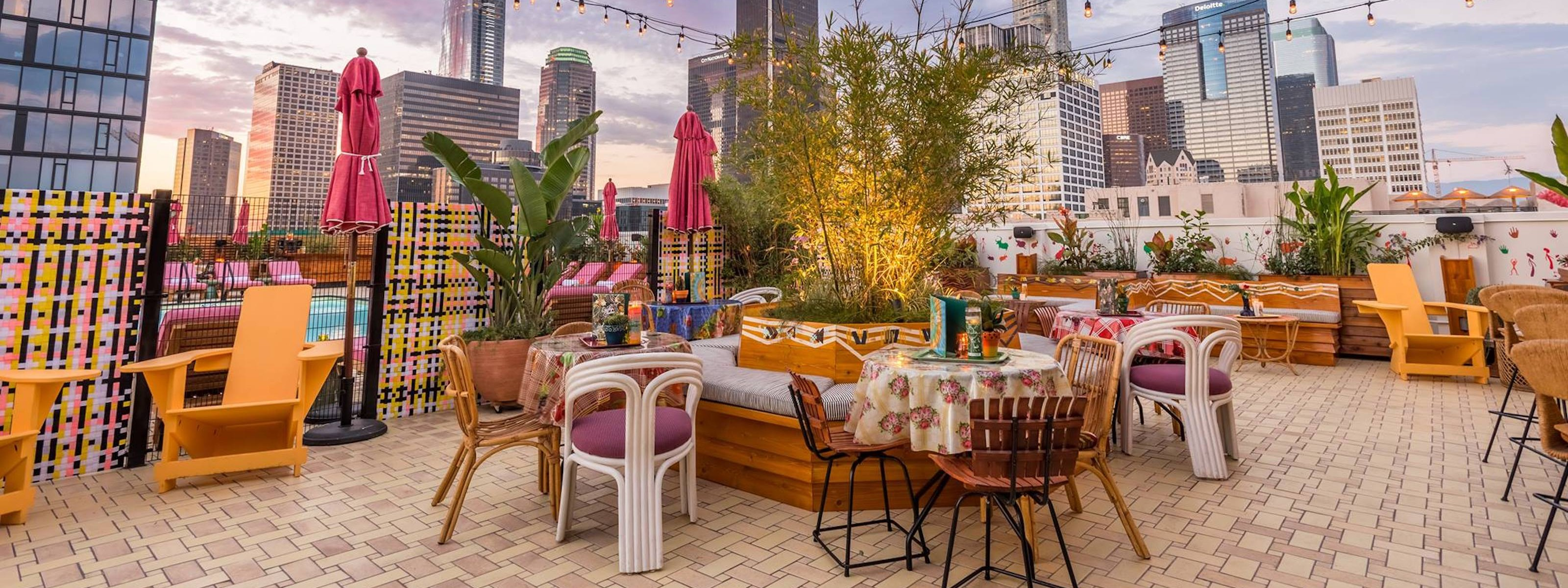 The Least Awful Rooftop Bars In La Los Angeles The
