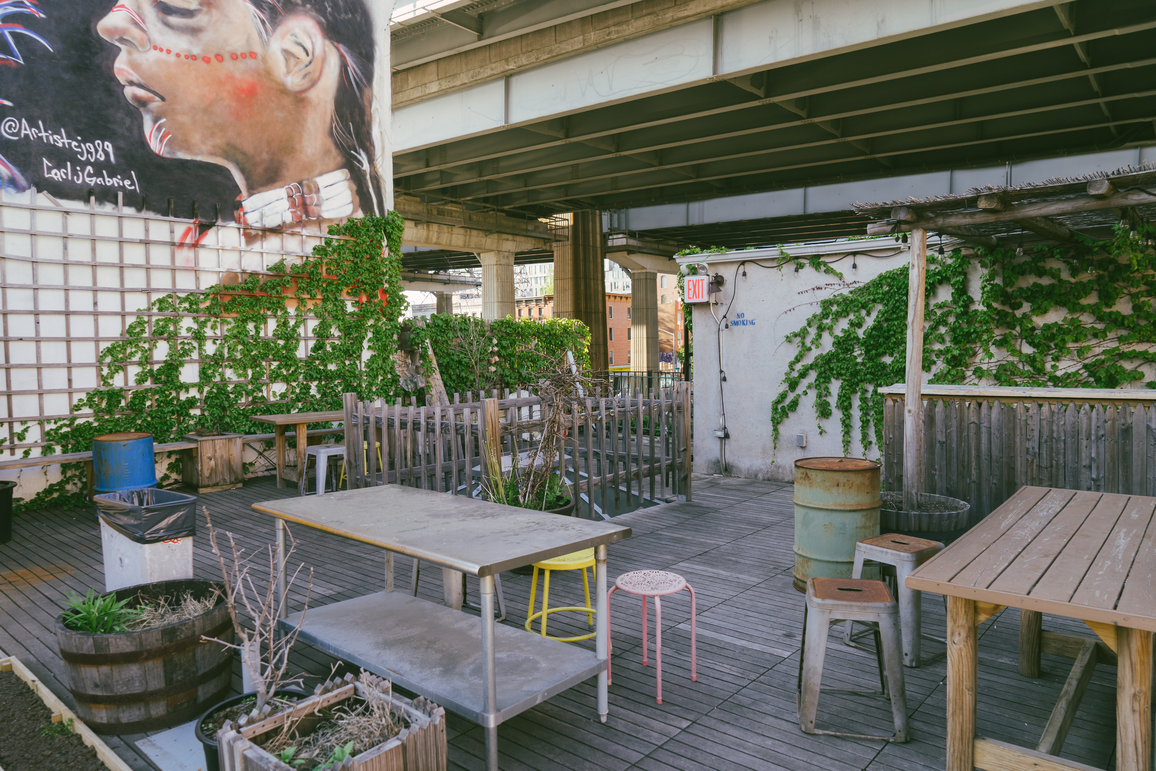 The Secret Patios Of NYC - New York - The Infatuation