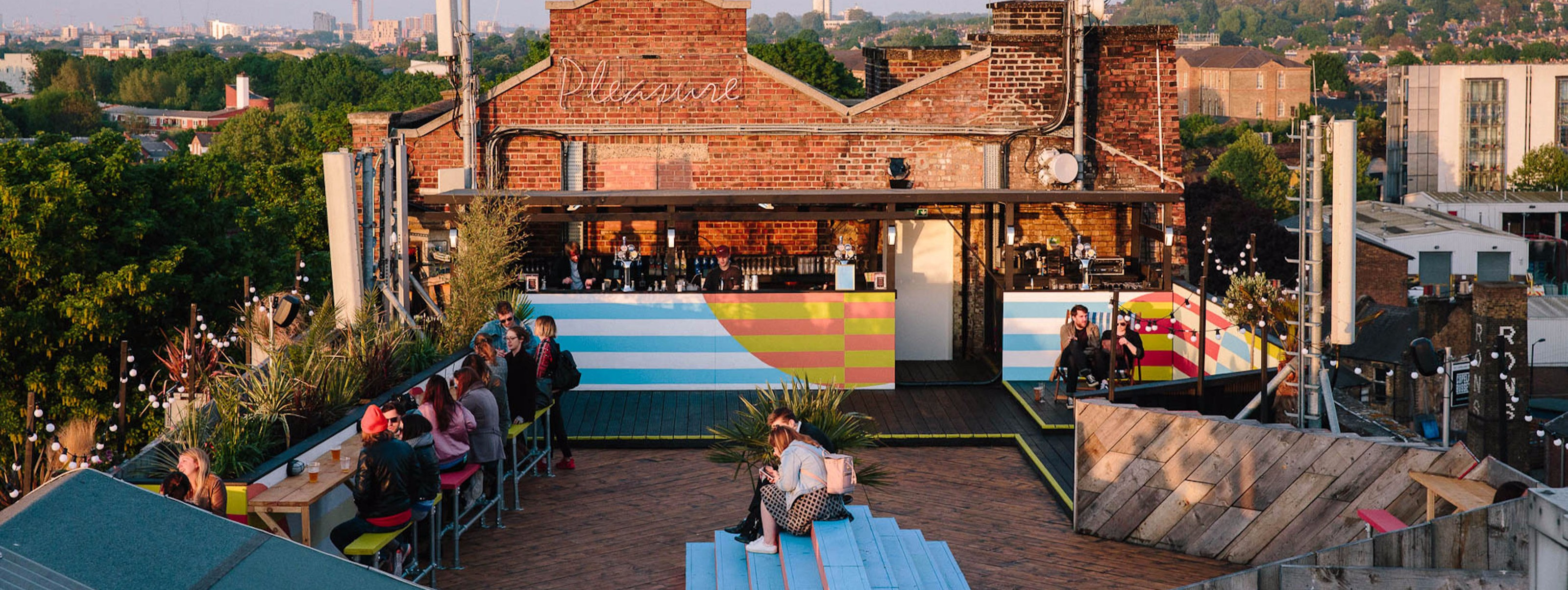 Bussey Rooftop Bar Peckham London The Infatuation