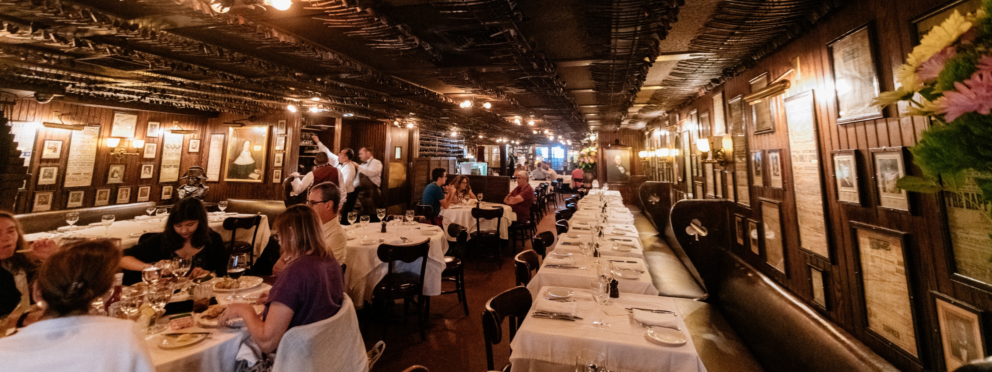 Keens Steakhouse Midtown New York The Infatuation