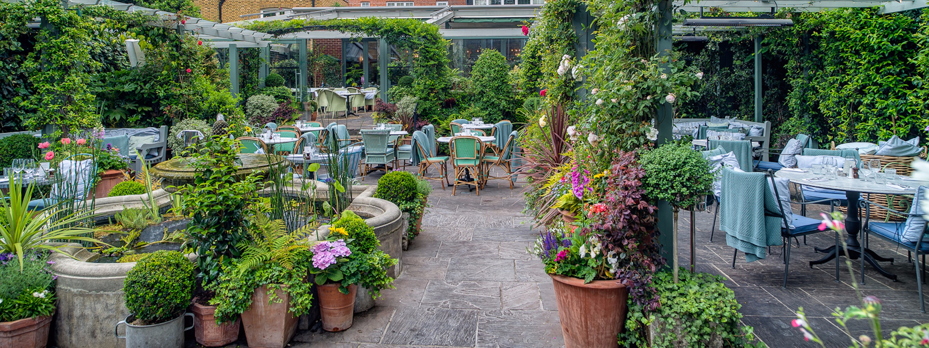 The Ivy Chelsea Garden Chelsea London The Infatuation