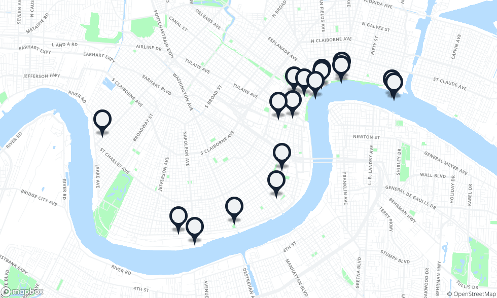 Magazine Street New Orleans Map.Where To Drink In New Orleans New Orleans The Infatuation