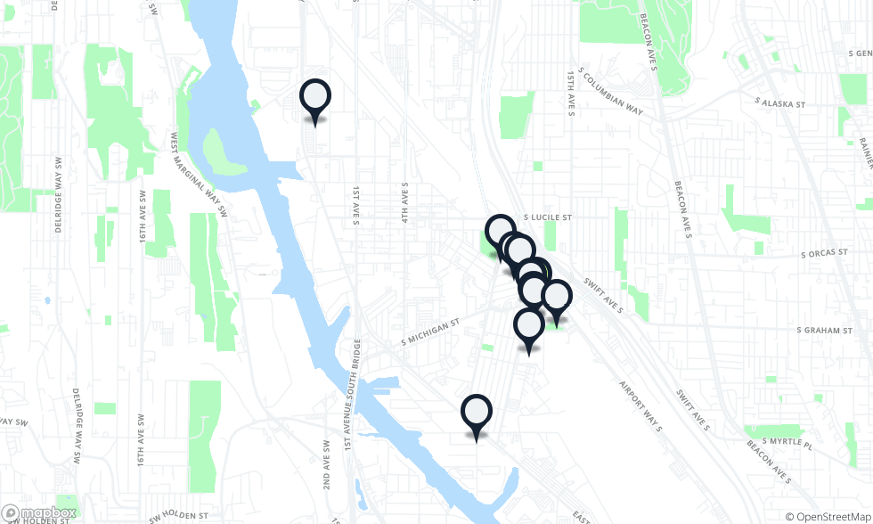 Georgetown Seattle Map.Where To Eat Drink In Georgetown Georgetown Seattle The