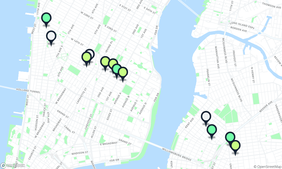 L Subway Map.Where To Eat Along The L Train New York The Infatuation