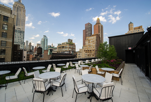 Nomad Rooftop Restaurant Nyc